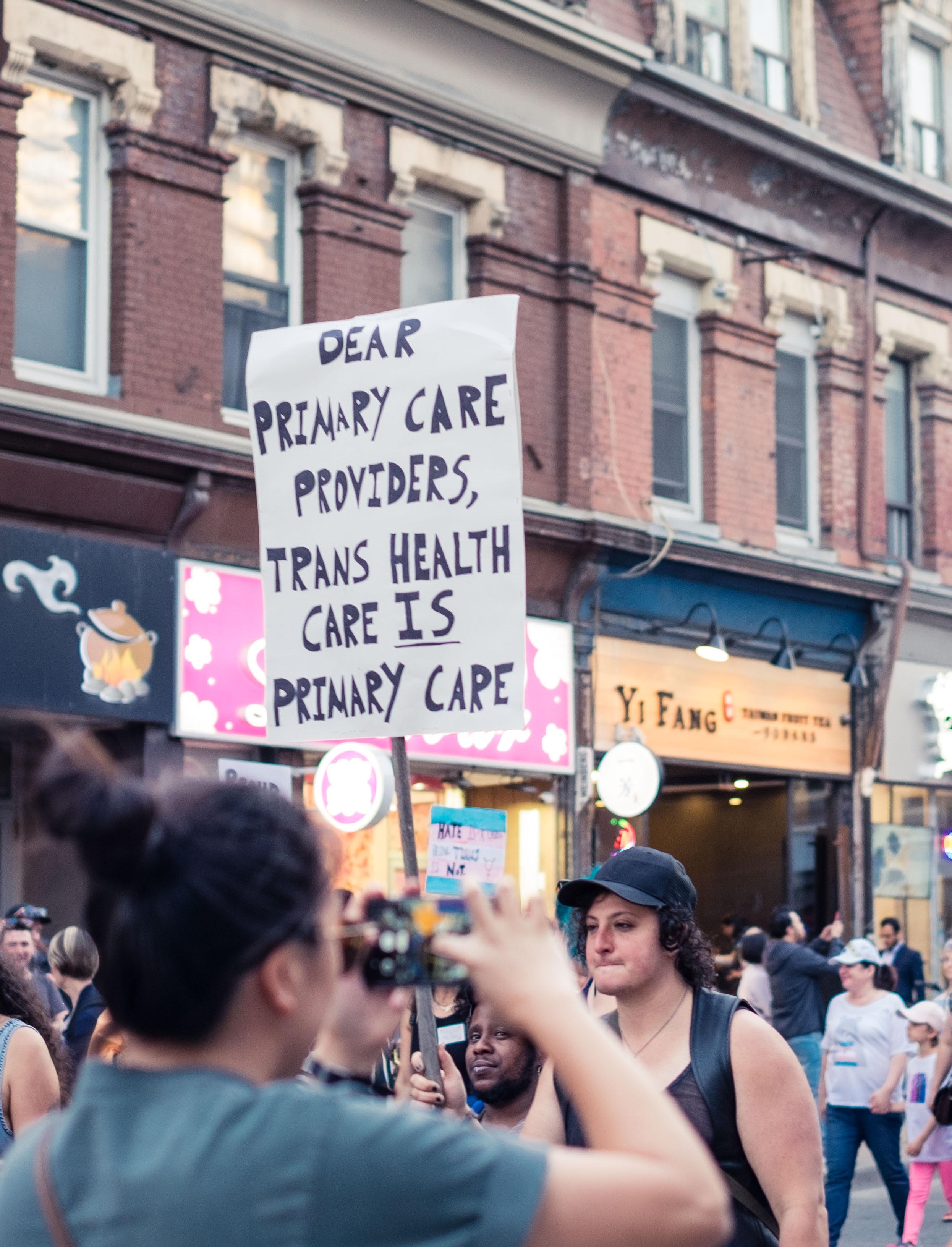 trans health care is primary care